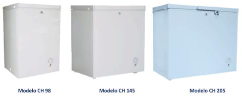 Acones congeladores FRIOBAT, serie congelador horizontal, CH